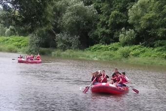 Spływ Pontonowy w Bardzie